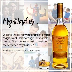 Edible Blooms – Win a limited edition Magnum of Scotch from Glemorangie for your Dad
