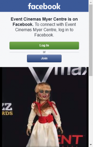 Event Cinemas Myer Centre –  Win An Annabelle Doll And A Double Pass To See Annabelle Creation
