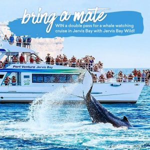 Experience OZ + NZ – Win a double pass for a whale watching cruise at Jervis Bay