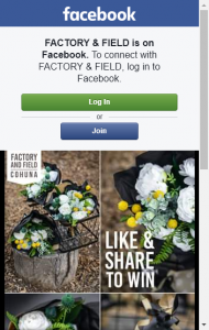 Factory  Field – Win 1 of 3 Bunches Of Silk Flowers