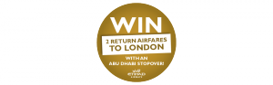 Flight Centre – Win 2 Return Airfaires to London
