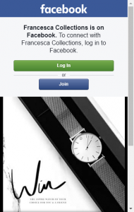 Francesca Collections – Win The Latest Aspire Watch Of Your Choice For You  & A Friend