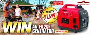 Generator Place – Win a Honda EU20i Generator valued at $2,099