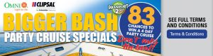 Go Electrical – Bigger Bash – Win 1 of 83 P&O Party Cruises for 2 for 4 days