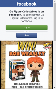 Go Figure Collectables –  Win A Ron All Of Their Own In This Week's Giveaway Competition