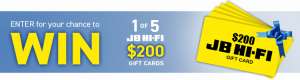 Greythorn – 2017 IT Market Suvery – Win 1 of 5 JB Hi-Fi Gift Cards valued at $200 each