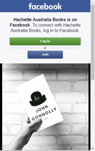 Hachette Australia – Win One Of Ten Proof Copies Of He By John Connolly