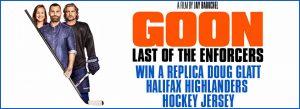 """JB-HiFi Goon Last of The Enforcers – Win a Doug 'the Thug"""" Glatt #69 Hockey Jersey (prize valued at $129.95)"""