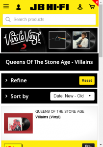 Jb Hifi –  – Win An Official Queens Of The Stone Age Tour Jacket  Framed Signed Queens Of The Stone Age Poster