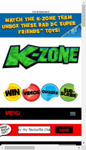 Kzone  – Win 14 Lights And Sounds Electronic Voltrons And Transforming Sword  (prize valued at  $500)