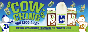 LD&D – Masters Cow Ching – Win 1 of 56 prizes of AUD$500 each