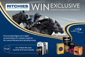 Lavazza – Win a major prize of a trip for 2 to attend Emirates Stakes Day 2017 in Victoria OR 1 of 10 Instant prizes of a Coffee Machine