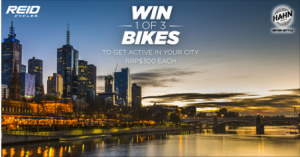 Lion – Hahn – Win 1 of 3 Reid Condor Flat Bar Road Bikes valued at $300 each