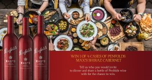 Liquor Marketing Group – Penfolds Max's Shiraz – Win 1 of 4 cases of Penfolds Max's Shiraz Cabernet