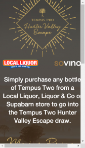 Local Liquor Liquor  Co Supabarn –  Win Any Promotion Run By The Promoter Except In The Case Of A Legal Change Of Name (prize valued at  $1,000,)