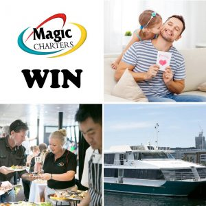 Magic Charters Melbourne – Win 2 Sunset Cruise Gift Vouchers To Give To Your Dad This Father's Day (valued At $396)