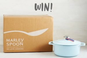 Marley Spoon – Win 1 of 2 Sky Blue pans from Chasseur Cookwear