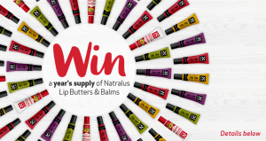 Natralus Australia – Win a Year's supply of Natralus Lip Butters & Balms valued at $91.65