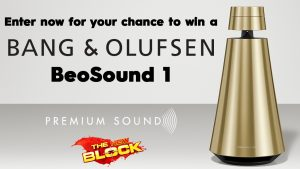 Nine Network – The Block – Win a Bang & Olufsen BeoSound 1 speaker valued at $1,950