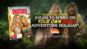 Nine Network – Today Extra – Snatched – Win a $10,000 holiday voucher