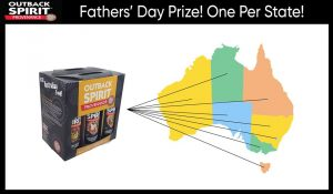 Outback Spirit – Real Australian Food – Win a BBQ 6 Pack to a Dad (One Per State)