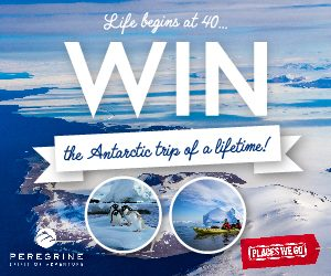 Places We Go – Win the Antarctic voyage of a lifetime for 2 PLUS return flights to Argentina valued at up to AU$33,200