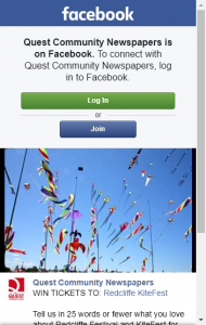 Quest Community News –  Win Passes To This Year's Kitefest
