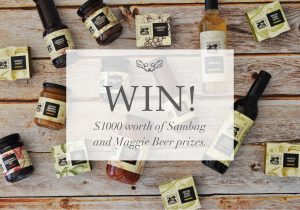 Sambag – Maggie Beer – Win a $500 gift voucher from Sambag & a $500 Maggie Beer pantry