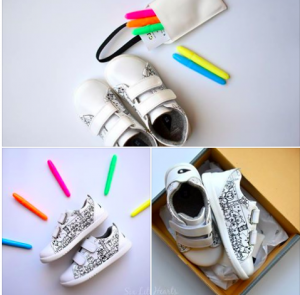 Six Little Hearts – Win a pair of BOBUX Custom shoes valued at $105