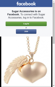 Sugar Accessories – Win A Heart Angel Caller Harmony Necklace