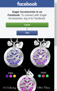 Sugar Accessories – Win An Infinity Heart Oil Diffuser Locket Necklace