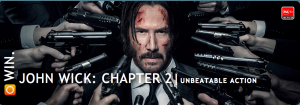 Switch –  Win One Of Five Copies Of 'John Wick Chapter 2' On Blu-Ray