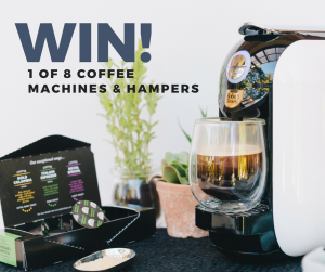 The House of Robert Timms – Father's Day – Win 1 of 8 Coffee Machines plus Gift Hampers for your Dad