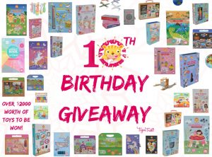 Tiger Tribe – 10th Birthday – Win a share of $2,000 in toys