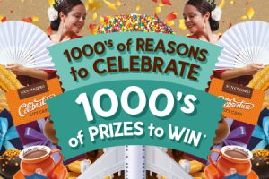 Venga – San Churro '1000's of Reasons to Celebrate – Win 1 of 3 trips to Spain & Portugal for 2 OR 1 of 12,500 daily prizes