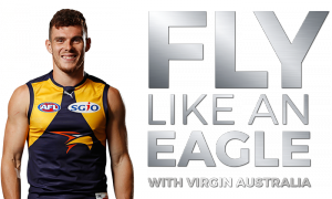 Virgin Australia Airlines – Fly Like and Eagle – Win 1 of 2 football fan experience prize packs OR 1 of 9 minor prizes
