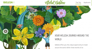 Weleda Australia – Global Garden – Win a trip to Germany OR a trip to 11 countries to visit various Weleda sites