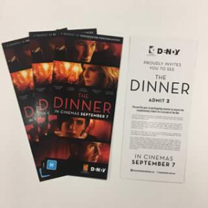 Angus  Robertson – Win One Of Four The Dinner Double Passes