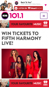 Australian Radio Network – Win Best Available seating tickets to Fifth Harmony at ICC Theatre