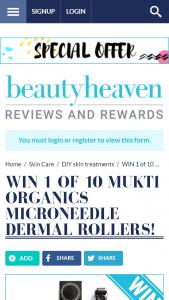 Beauty Heaven – Win 1 Of 10 Mukti Organics Microneedle Dermal Rollers
