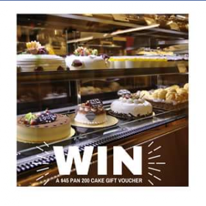 Calamvale Central – Win A $45 Father's Day Cake Gift Voucher (prize valued at  $45)