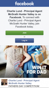 Charlie Lund – Principal Agent McGrath Hunter Valley – Win a $200 Bunnings Gift Voucher Perfect For Father's Day