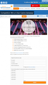 Discover Queenand – Win A Gold Coast Casino Holiday