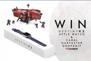 EB Games – Win A A Destiny 2 Apple Watch And A Mega Blocks Cabal Harvester Dropship