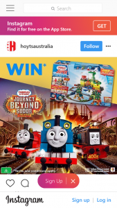 Hoyts Australia – Win A Thomas  Friends Super Station