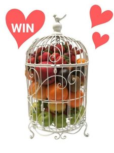 iGiftFruitHampers.com.au – Win a luxury bird cage edible fruit gift hamper valued at $179