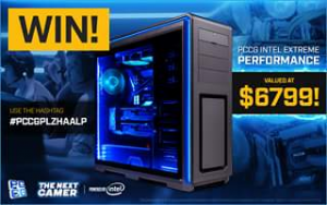 PC Case Gear – Win A PCCG Intel Extreme Performance System