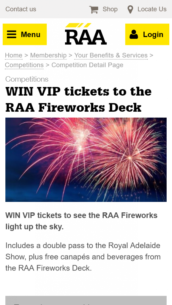 RAA – Win VIP Tickets to see The Raa Fireworks Light Up The Sky