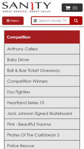 """Sanity – Win One Of 10 Signed Copies Competition (""""promotion"""")"""