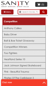 """Sanity – Win Tickets To Their Show Competition (""""promotion"""")"""